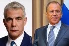 في اتصال هاتفي.. لافروف ولابيد يبحثان التعاون بين موسكو وتل أبيب