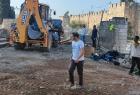 جرافات الاحتلال تقتحم مقبرة الشهداء-  اليوسفية بالقدس وتبدأ أعمال تجريف- فيديو
