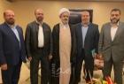 وفد قيادة حماس يختتم زيارته إلى إيران