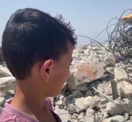 سلطات الاحتلال تجبر عائلة جابر على هدم منزلها في وادي الجوز بالقدس