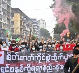 """الأمم المتحدة تتهم """"مجلس ميانمار العسكري"""" بحشد قواته في الشمال وتحذر من """"فظائع جماعية"""""""