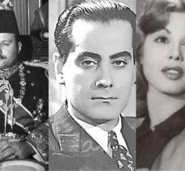 """أطلق عليها """"سمجة جمال"""".. سر العلاقة غير المفهومة ين الملك فاروق وفراشة السينما"""