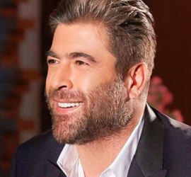 الفنان اللبناني وائل كفوري يتعرض لحادث سير شمال بيروت