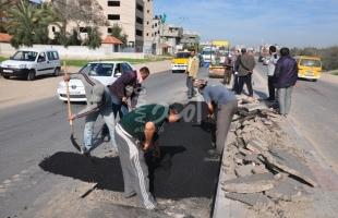 الإدارة المدنية استكملت مشروع إنارة الطرق المؤدية إلى مدينة بيت جالا