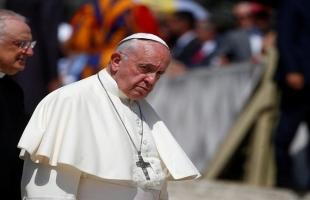 البابا فرانسيس يدعو لدعم الحوار بين الفلسطينيين والإسرائيليين دون إملاءات