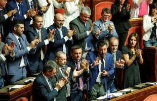 """مجلس الشيوخ الإيطالي يقرر تأجيل التصويت على سحب الثقة من حكومة """"كونتي"""" إلى 20 أغسطس"""