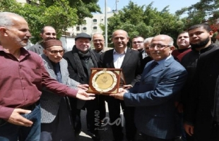 بلدية غزة تشيد بأهالي شارع الدوحة لمبادرتهم في تجميل الشارع