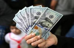 سعر صرف الدولار مقابل الشيكل في فلسطين
