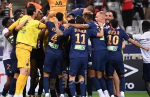 فوز مباراة باريس سان جيرمان على مانشستر سيتي في دوري أبطال أوروبا - فيديو