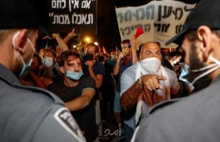 آلاف الإسرائيليين يطالبون باستقالة نتنياهو: ديكتاتور كاذب