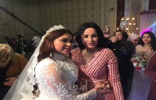 منار اللبنانية تنهي خلافها مع أسرة شعبان عبدالرحيم (صور وفيديو)