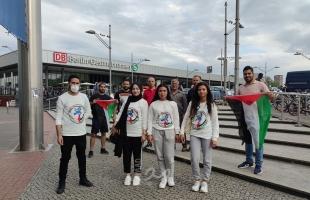 """الاتحاد الفلسطيني الأوروبي """"شباب"""" ينظم وقفة تضامنية مع أهالي سلوان والشيخ جراح في برلين"""
