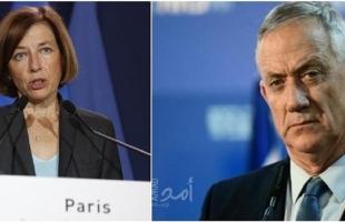 """""""غانتس"""" يؤكد لفرنسا أنّ إسرائيل تتعامل """"بجدية"""" مع قضية بيغسوس"""