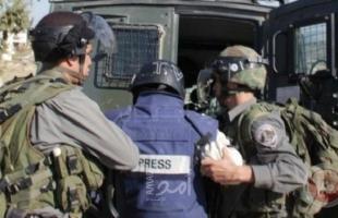 """""""مدى"""" يصدر تقريرًا حول الاعتقالات الإسرائيلية للصحافيين في فلسطين"""