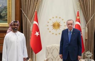 أردوغان يستقبل وفدًا إماراتيًا برئاسة طحنون بن زايد في أنقرة