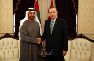 """بعد أيام من زيارة طحنون بن زايد إلى تركيا.. اتصال هاتفي بين """"ولي عهد أبوظبي وأردوغان"""""""