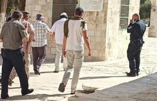 """القدس: عشرات المستوطنون يقتحمون ساحات """"الأقصى"""""""