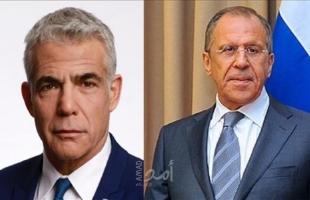 لابيد: لا نجري محادثات مع سوريا ..ولن نقف مكتوفي الأيدي أمام تموضع إيران