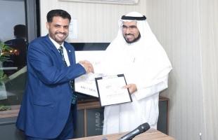 توقيع اتفاقية شراكة بين أكاديمية الإبداع الخليجي ومنصة أناردس