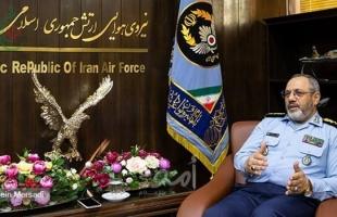 """خامنئي يعين """"عزيزي نصير زاده"""" قائدًا لقيادة القوات الجوية الإيرانية"""