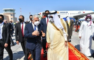 لابيد يصل البحرين لافتتاح السفارة الإسرائيلية في المنامة