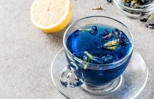 تعرفي إلى فوائد الشاي الأزرق
