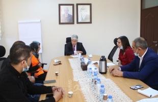 مجدلاني يبحث مع حملة ثمرة خير سبل تعزيز التعاون لتوفير الخدمات للأسر المستفيدة