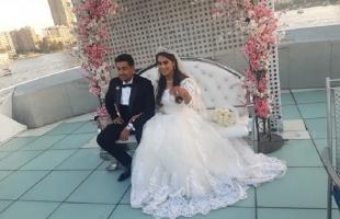 """شقيق """"ياسمين صبري"""" يحتفل بزفافه- صور"""
