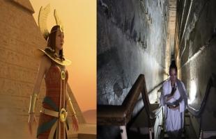 مطربة أمريكية تطلق أول كليب مصري من داخل الأهرامات