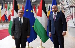 اشتية يطالب الاتحاد الأوروبي بالإيفاء بالتعهدات المالية المقرة للعام 2021