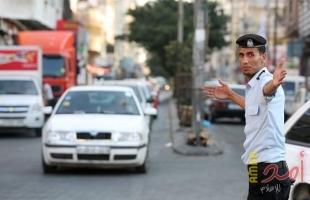 غزة: إغلاق كلي لشارع نادي الشاطئ بسبب وجود أعمال صيانة