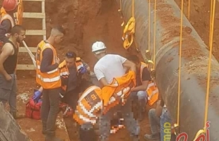 إصابة 10 عمال إثر انهيار جدار في كفر كنا داخل أراضي الـ48