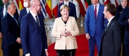 """ميركل قلقة على مستقبل الاتحاد الأوروبي: أمام سلسلة من المشاكل التي لم تحل"""""""