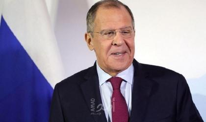 """""""لافروف"""" يؤكد أنه لا بديل عن مبدأ الدولتين لحل الصراع """"الفلسطيني - الإسرائيلي"""""""