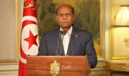 """المرزوقي: لا أعترف بـ""""قيس سعيد"""" رئيساً شرعياً لتونس"""