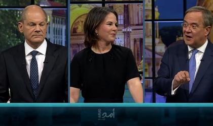 """مناظرة ساخنة بين المنافسين الساعين لخلافة ميركل وشولتز """"الديمقراطي الاشتراكي"""" يتقدم"""