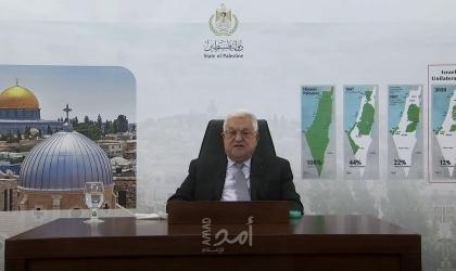 الرئيس عباس يهنئ رئيس زامبيا بذكرى الاستقلال