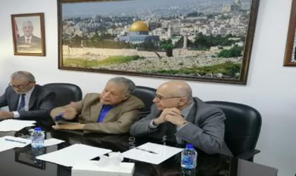 وفد من الاعلاميين الدنماركيين يزور المجلس الوطني الفلسطيني في عمّان