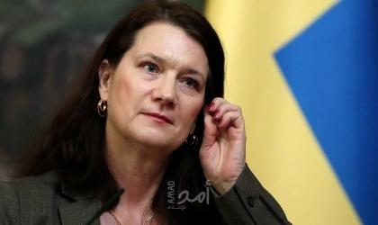 بعد قطيعة دامت 7 سنوات.. وزيرة خارجية السويد تزور إسرائيل
