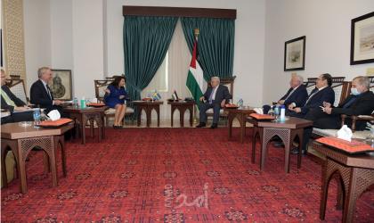 """وزيرة خارجية السويد: """"الفساد في فلسطين مشكلة أمام تقديم الدعم"""""""